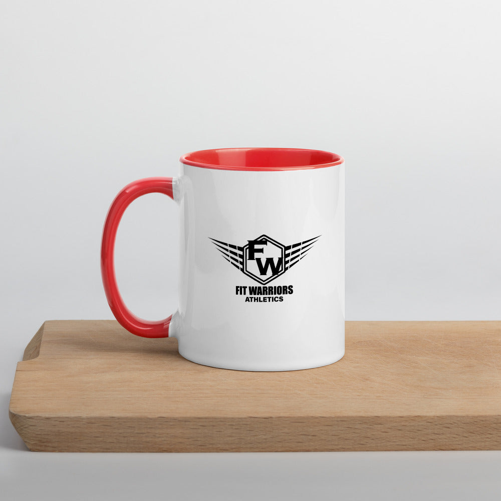 Mug with Color Inside Fit Warriors Athletics