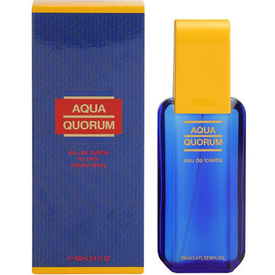 Quorum Aqua for Men by Antonio Puig Eau De Toilette - 3.4 oz perfume for men