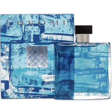 Azzaro Chrome Limited Edition for Men Eau De Toilette - 3.4 oz