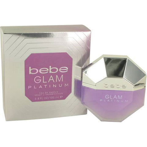 Bebe - Glam Platinum for Women Eau De Parfum - 3.4oz-laminadeoro.com
