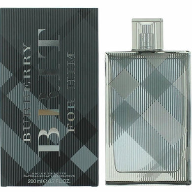 Burberry Brit for Men by Burberry Eau De Toilette - 6.7 oz Fragrance for Men