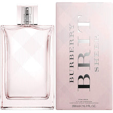 Load image into Gallery viewer, Burberry Sheer for Women Eau De Toilette - 6.7 oz fragrance for women