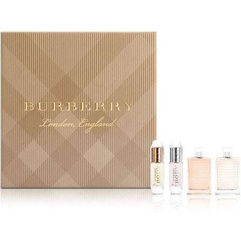 Burberry - Mini Collection for Women 4pc Gift Set-laminadeoro.com