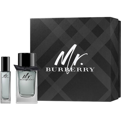 Mr. Burberry for Men by Burberry 2-piece Gift Set - Eau De Toilette 3.4 oz & Eau De Toilette 1.0 oz