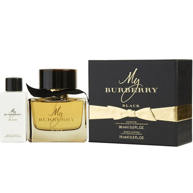 My Burberry Black for Women 2-piece Gift Set - Eau De Parfum 3.0 oz & Body Lotion 2.5 oz