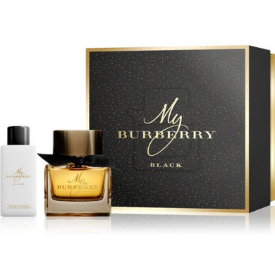 My Burberry Black for Women 2-piece Gift Set - Eau De Parfum & Body Lotion
