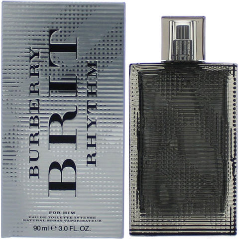 Burberry - Brit Rhythm Intense for Men Eau De Toilette - 3.0oz-laminadeoro.com