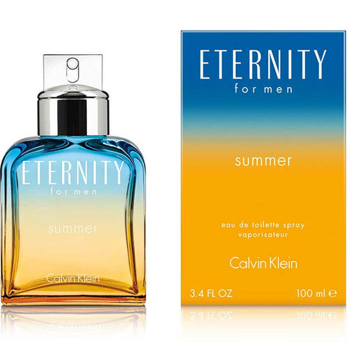Eternity Summer for Men by Calvin Klein Eau De Toilette - 3.4 oz