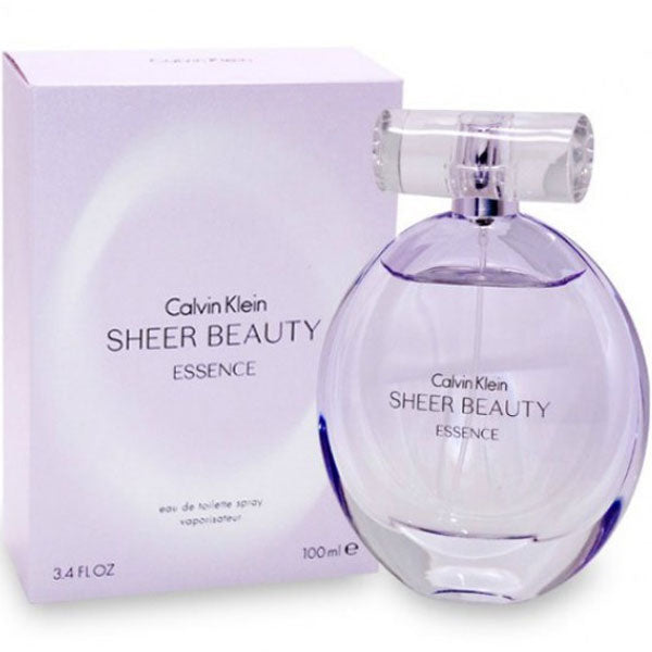 Sheer Beauty Essence for Women by Calvin Klein Eau De Parfum - 3.4 oz Fragrance for Women