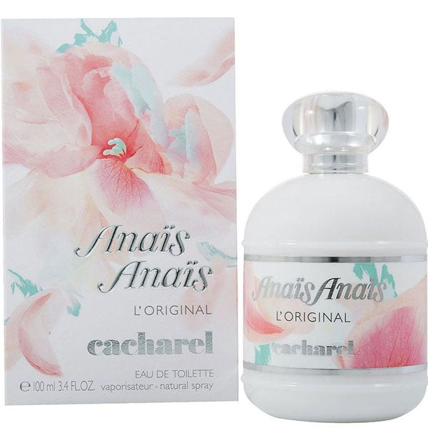 Cacharel Anaïs Anaïs L'Original for Women Eau De Toilette - 3.4 oz Fragrance for  women