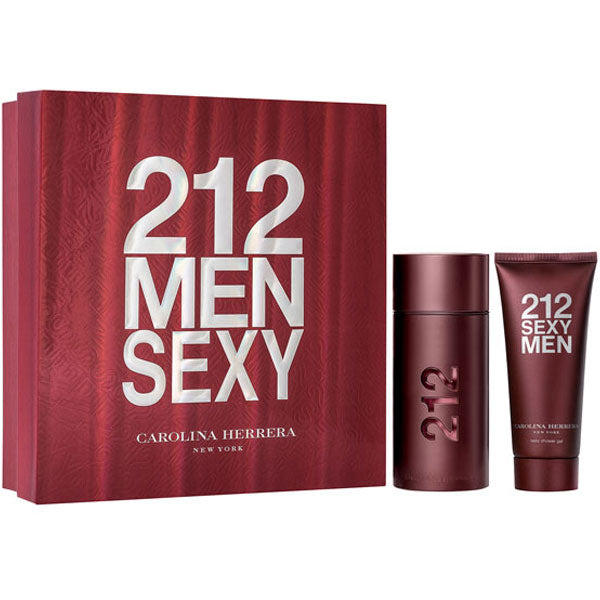 212 Sexy for Men by Carolina Herrera 2-piece Gift Set – Eau De Toilette & Shower Gel fragrance for men