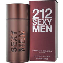 Load image into Gallery viewer, 212 Sexy for Men by Carolina Herrera Eau De Toilette Spray - 3.4 oz