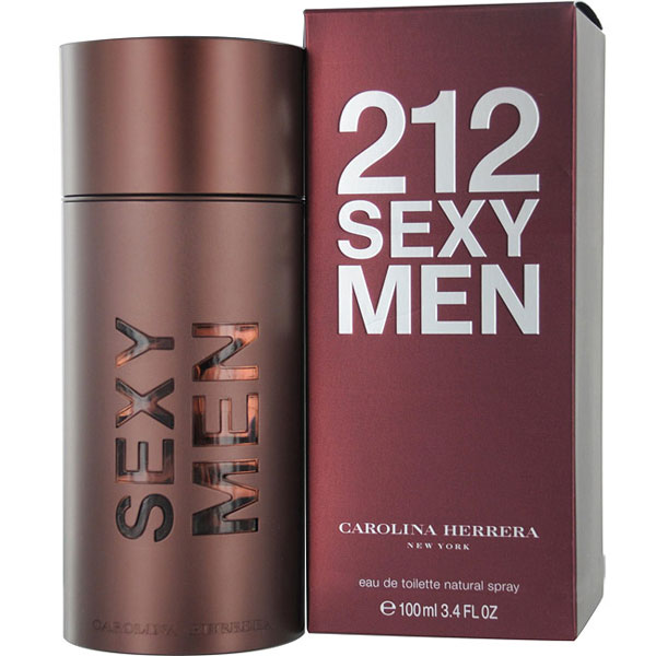 212 Sexy for Men by Carolina Herrera Eau De Toilette Spray - 3.4 oz