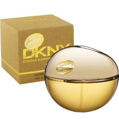 DKNY Golden Delicious for Women by Donna Karan Eau De Parfum - 3.4 oz Fragrance for Women