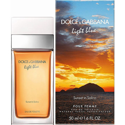 Dolce and Gabbana - Light Blue Sunset In Salina EDT - 1.7oz-laminadeoro.com