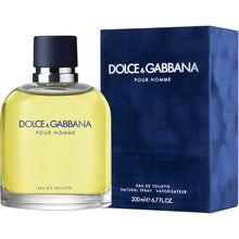 Load image into Gallery viewer, D&G Pour Homme for Men by Dolce & Gabbana Eau De Toilette - 6.8 oz perfume for men