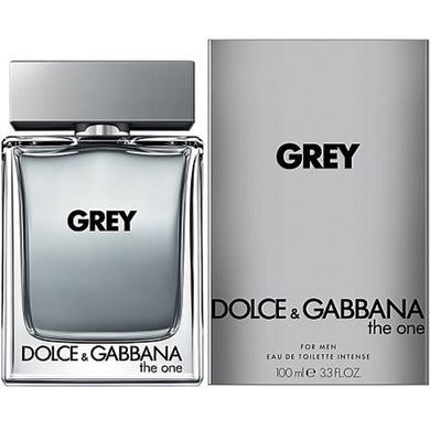 Dolce & Gabbana The One Grey On for Men Eau De Toilette - 3.3 oz Perfume for Men