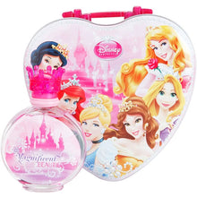 Load image into Gallery viewer, Disney Princess Magnificent Beauties for Kids Eau De Toilette & Metal Lunch Box Fragrance for kids