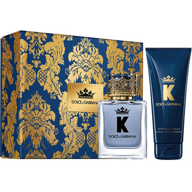 D&G K for Men by Dolce & Gabbana 2-piece Gift Set - Eau De Toilette & After Shave Balm perfume for men