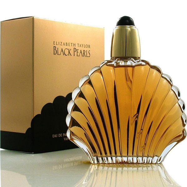 Black Pearls for Women by Elizabeth Taylor Eau De Parfum - 3.4 oz Fragrance for Women