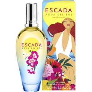 Escada Agua Del Sol for Women Eau De Toilette - 3.3 oz Fragrance for Women