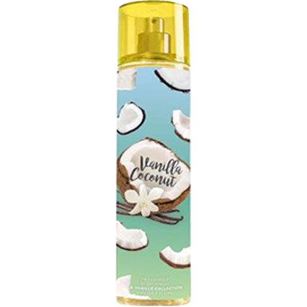 Vanilla Coconut Body Mist So French Perfume Escapes Collection by FragLuxe - 8.0 oz