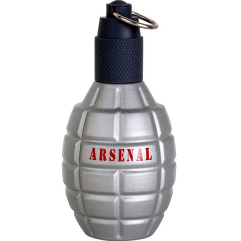 Arsenal Grey by Gilles Cantuel for Men Eau De Parfum - 3.4 oz