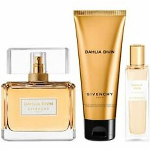 Givenchy - Dhalia Divin for Women 3pc EDP Gift Set-laminadeoro.com