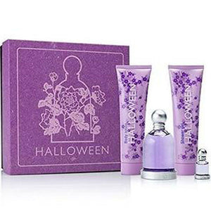 Halloween for Women by Jesus Del Pozo 4-piece Gift Set - Eau De Toilette, Body Lotion, Shower Gel & Mini Travel Spray
