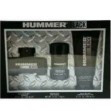 Load image into Gallery viewer, Hummer Black for Men 3-piece Gift Set - Eau De Toilette, Body Wash & Deodorant Stick perfume for men