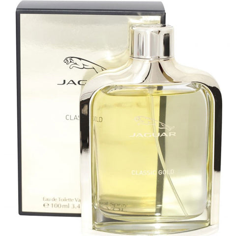 Jaguar - Classic Gold for Men Eau De Toilette - 3.4oz-laminadeoro.com