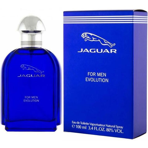 Jaguar - Evolution for Men Eau De Toilette - 3.4oz-laminadeoro.com