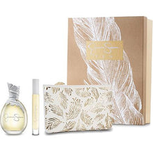 Load image into Gallery viewer, Jessica Simpson Ten for Women 3-piece Gift Set - Eau De Parfum 3.4 oz, Fragrance Rollerball & Makeup Pouch