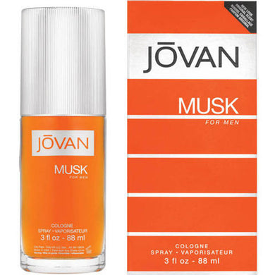Jovan Musk for Men Eau De Cologne - 3.0 oz Perfume for men