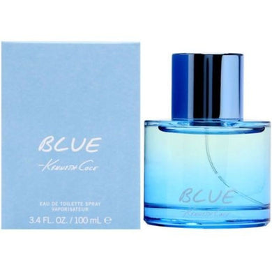 Kenneth Cole Blue for Men Eau De Toilette - 3.4 oz perfume for men