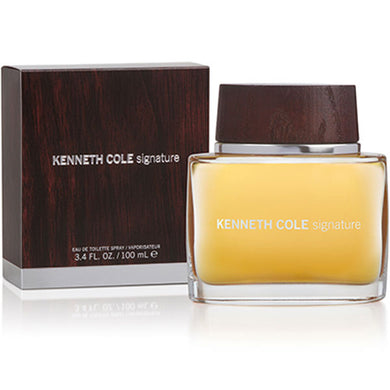 Kenneth Cole Signature for Men Eau De Toilette - 3.4 oz perfume for men