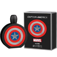 Load image into Gallery viewer, Marvel Captain America Hero for Men 3-piece Gift Set - Eau De Toilette, Shower Gel & After Shave Balm