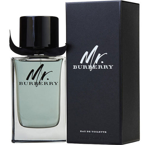 Burberry - Mr. Burberry for Men Eau De Toilette - 3.4oz-laminadeoro.com