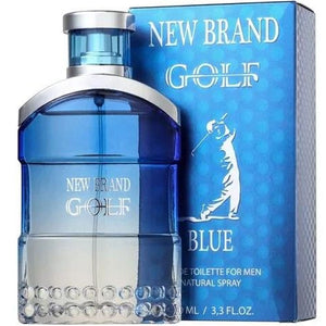 Golf Blue for Men by New Brand Parfums Eau De Toilette - 3.4 oz perfume for men