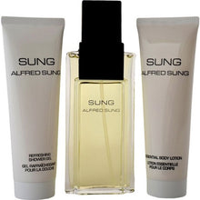 Load image into Gallery viewer, Sung for Women by Alfred Sung 3-piece Gift Set - Eau De Parfum, Body Lotion & Shower Gel
