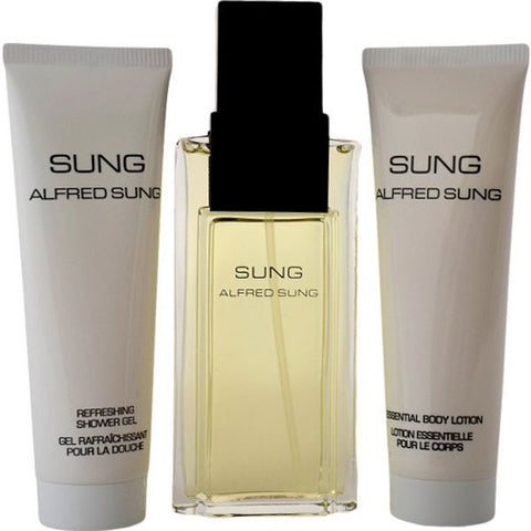 Alfred Sung - Sung for Women 3pc EDP Gift Set-laminadeoro.com