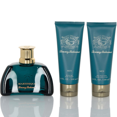 Tommy Bahama - Martinique for Men 3pc EDC Gift Set-laminadeoro.com