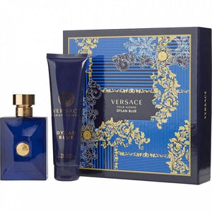 Versace Dylan Blue Pour Homme for Men by Gianni Versace 2-piece Gift Set - Eau De Toilette & Shower Gel