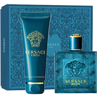 Versace Eros for Men by Gianni Versace 2-piece Gift Set - Eau De Toilette & Shower Gel perfume for men