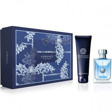 Versace Pour Homme for Men 2-piece Gift Set - Eau De Toilette and Hair & Body Shampoo