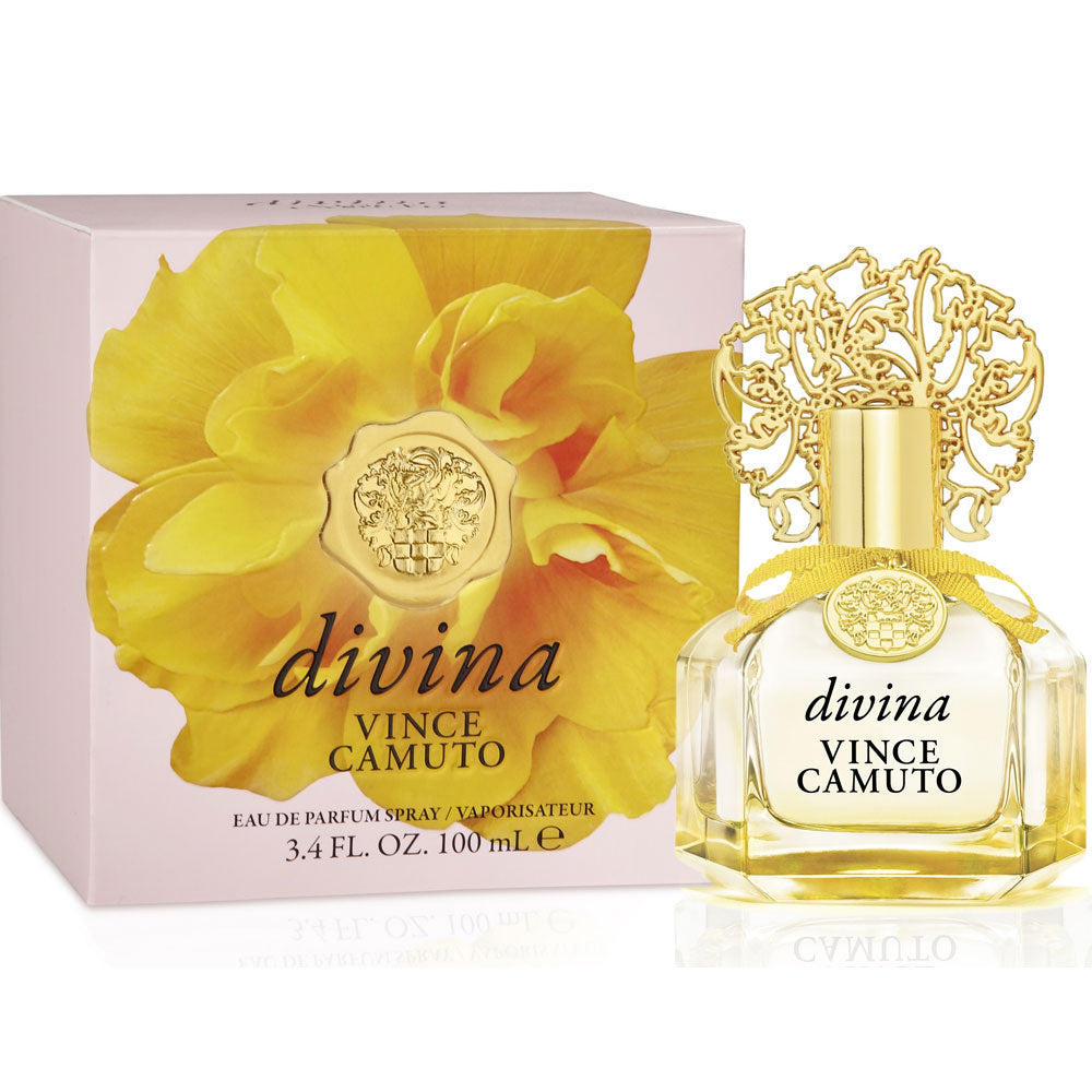 Vince Camuto Divina for Women Eau De Parfum - 3.4 oz fragrance for women