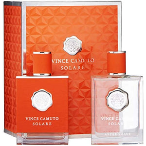Vince Camuto Solare for Men 2-piece Gift Set - Eau De Toilette & After Shave Lotion perfume for men