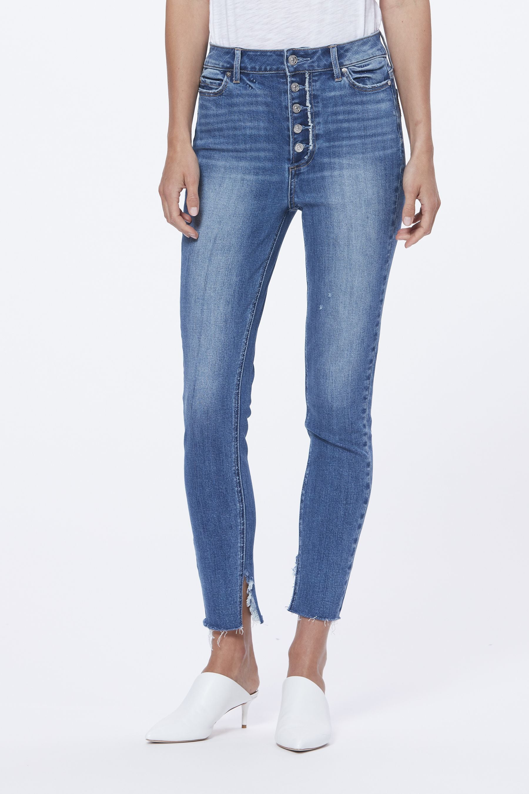 Margot Skinny w/ Frayed Fly