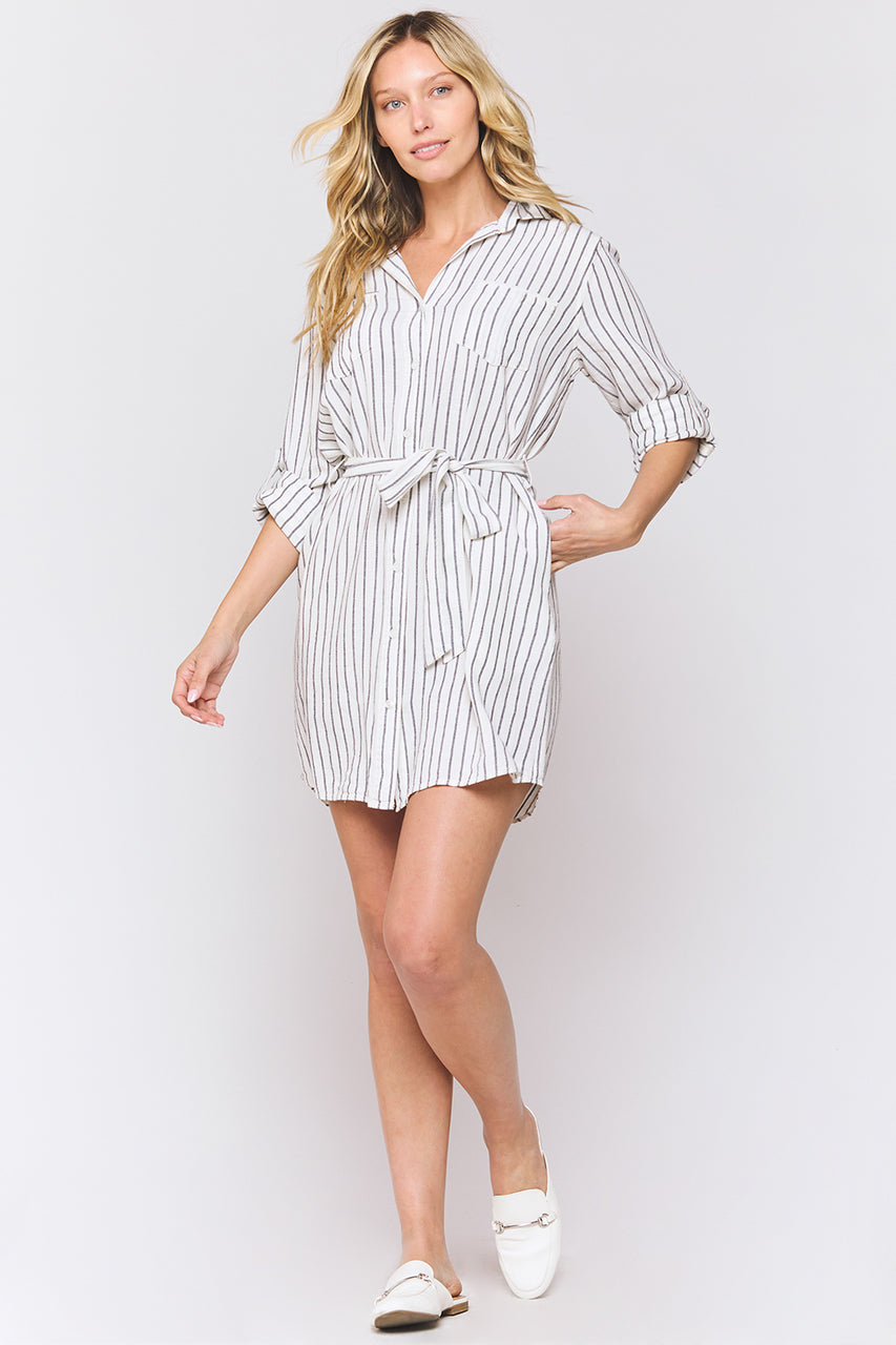 Anita Roll Sleeve Dress