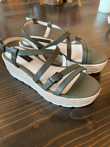 Aerial Wedge Sandal